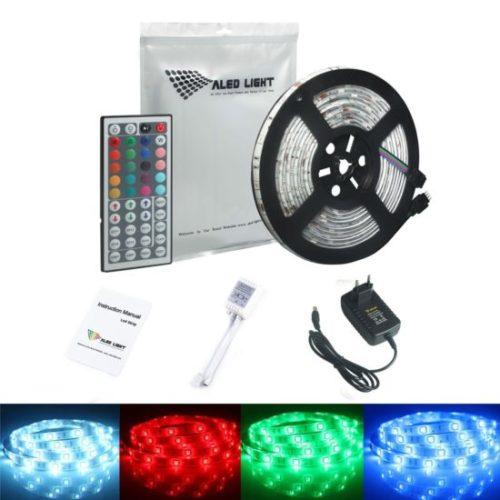 Strip LED offerte 16 colori RGB 5M BOBINA SMD5050 IMPERMEABILE