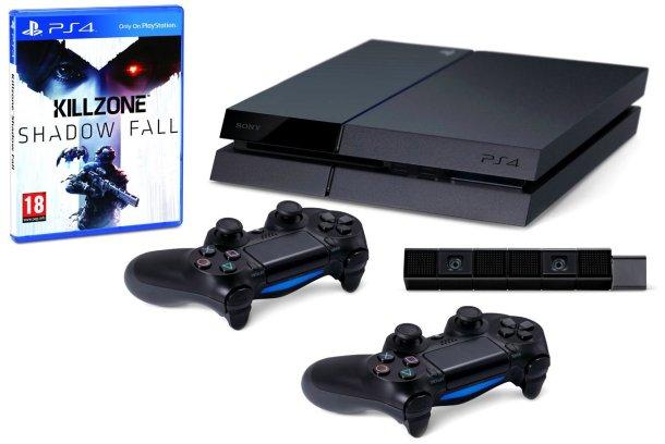 PlayStation 4 prezzo scontato con Camera, 2 Controller DualShock 4, costo basso
