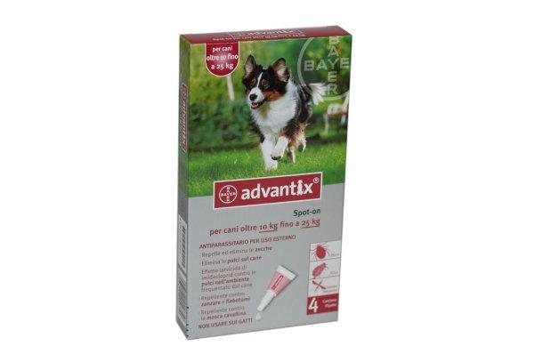 Advantix antiparassitario migliore per cani a buon prezzo