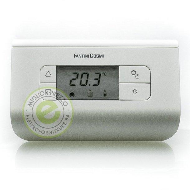 I 5 migliori termostati ambiente quale cronotermostato for Cronotermostato ch140 gsm fantini cosmi