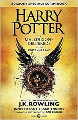 libro harry potter e la maledizione dell'erede nuova edizione