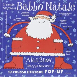 il mondo segreto di babbo natale libro pop-up