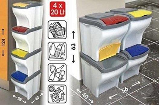 miglior contenitore per raccolta differenziata