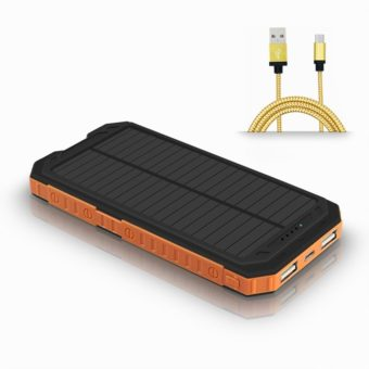 migliori caricabatterie solari per smartphone