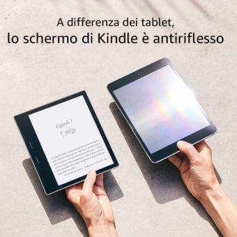Recensione Nuovo e-Reader Kindle Oasis 300ppi
