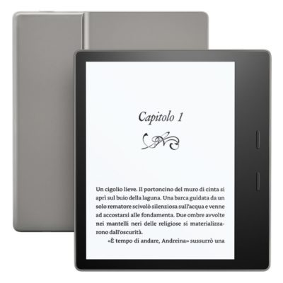 Recensione nuovo e-Reader Kindle Oasis 7 pollici