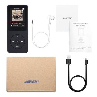 AGPTek A02 Recensione Lettore mp3 schermo 1,8 pollici