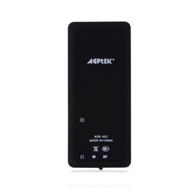 AGPTek A02 Recensione del Lettore mp3 da 8gb