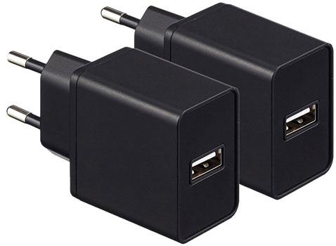 migliori caricabatterie USB da parete in commercio
