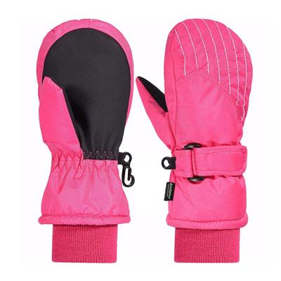 come scegliere un paio di guanti da neve per bambini piccoli